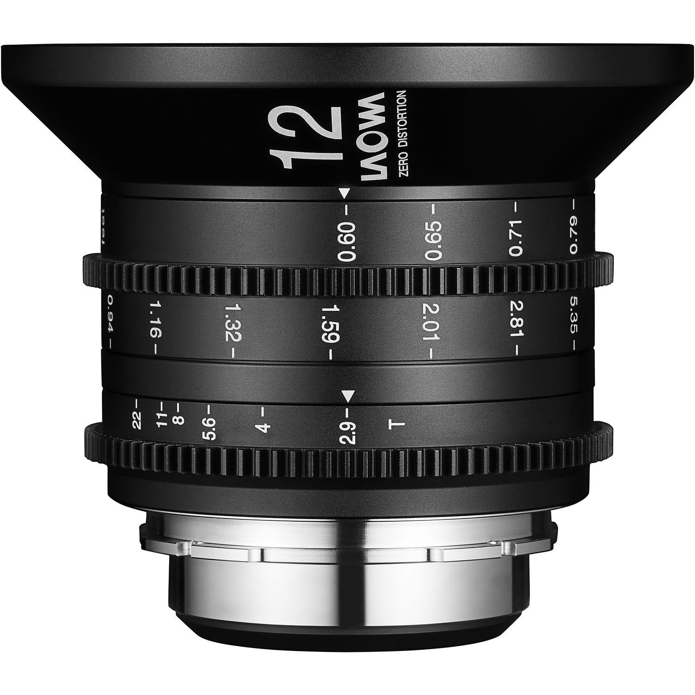 LAOWA 12 mm T2,9 Zero-D Cine pro Sony E