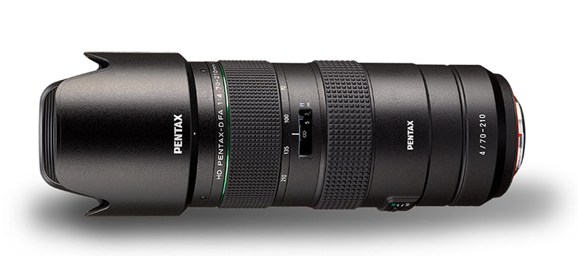PENTAX 70-210 mm f/4 HD D-FA ED SDM WR
