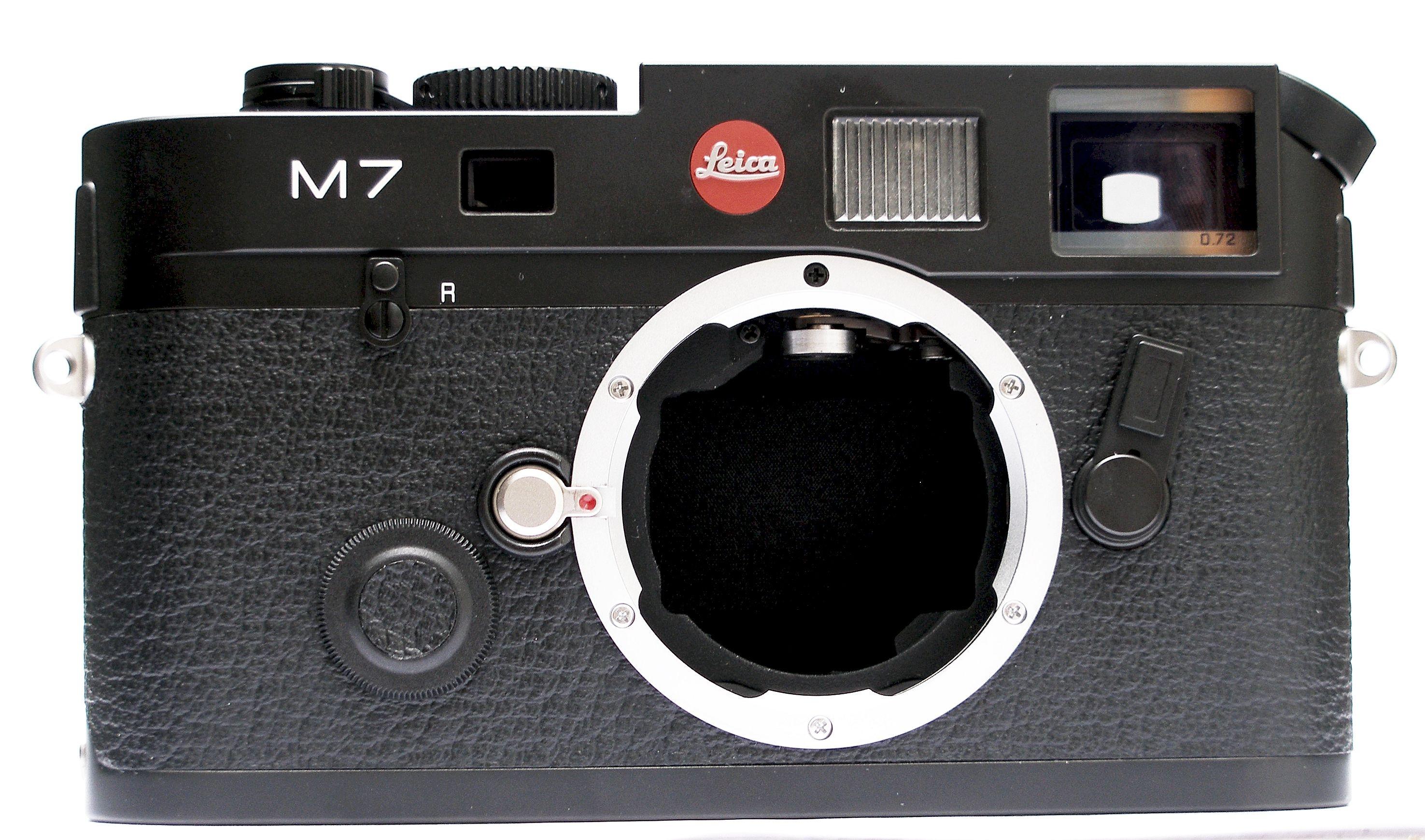 LEICA M7 0,72 černý chrom