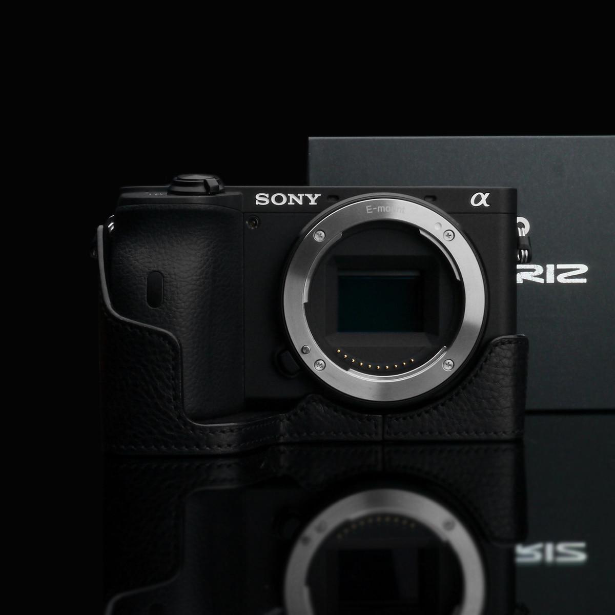 GARIZ pouzdro ochranné pro Sony A6600 černé