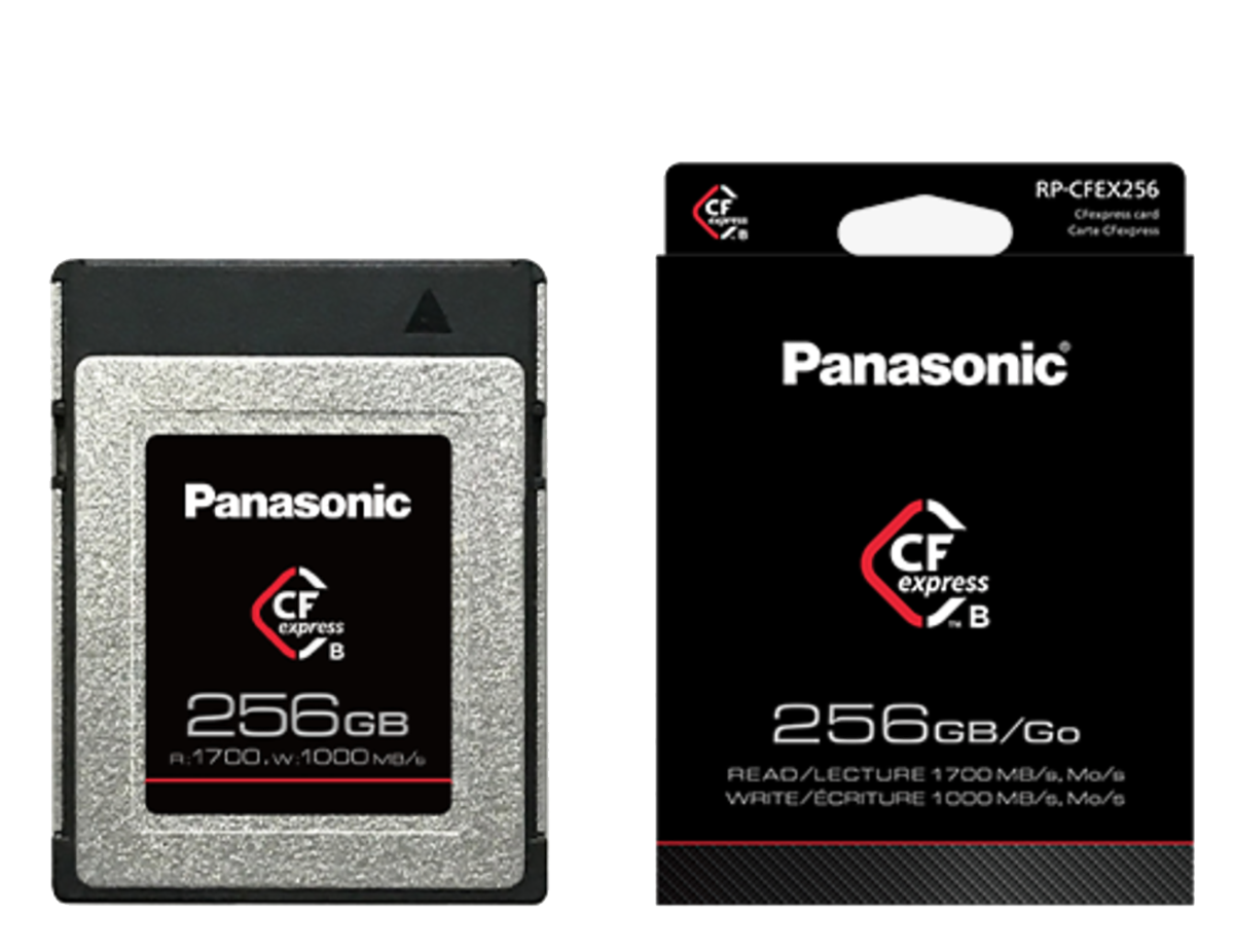 PANASONIC CFexpress 256GB typ B