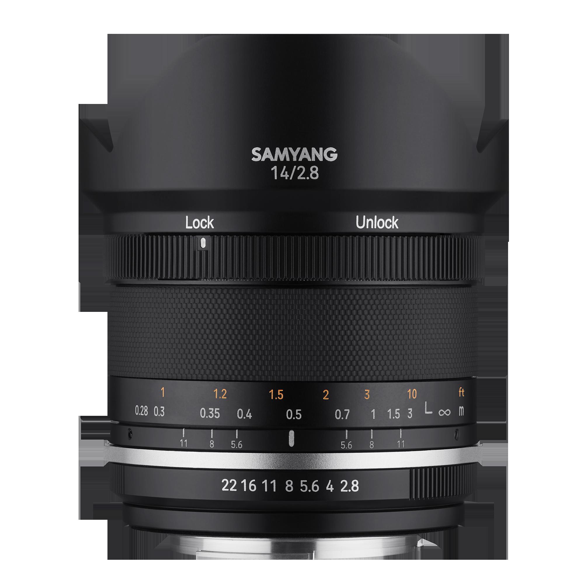 SAMYANG 14 mm f/2,8 MK2 pro Canon EF-M