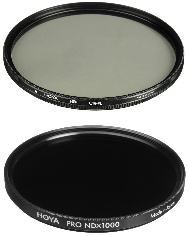 HOYA filtr polarizační cirkulární HD 67 mm + HOYA ND 1000x PRO 67 mm