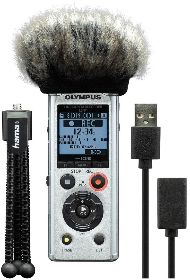 OLYMPUS diktafon LS-P1 Podcaster Kit