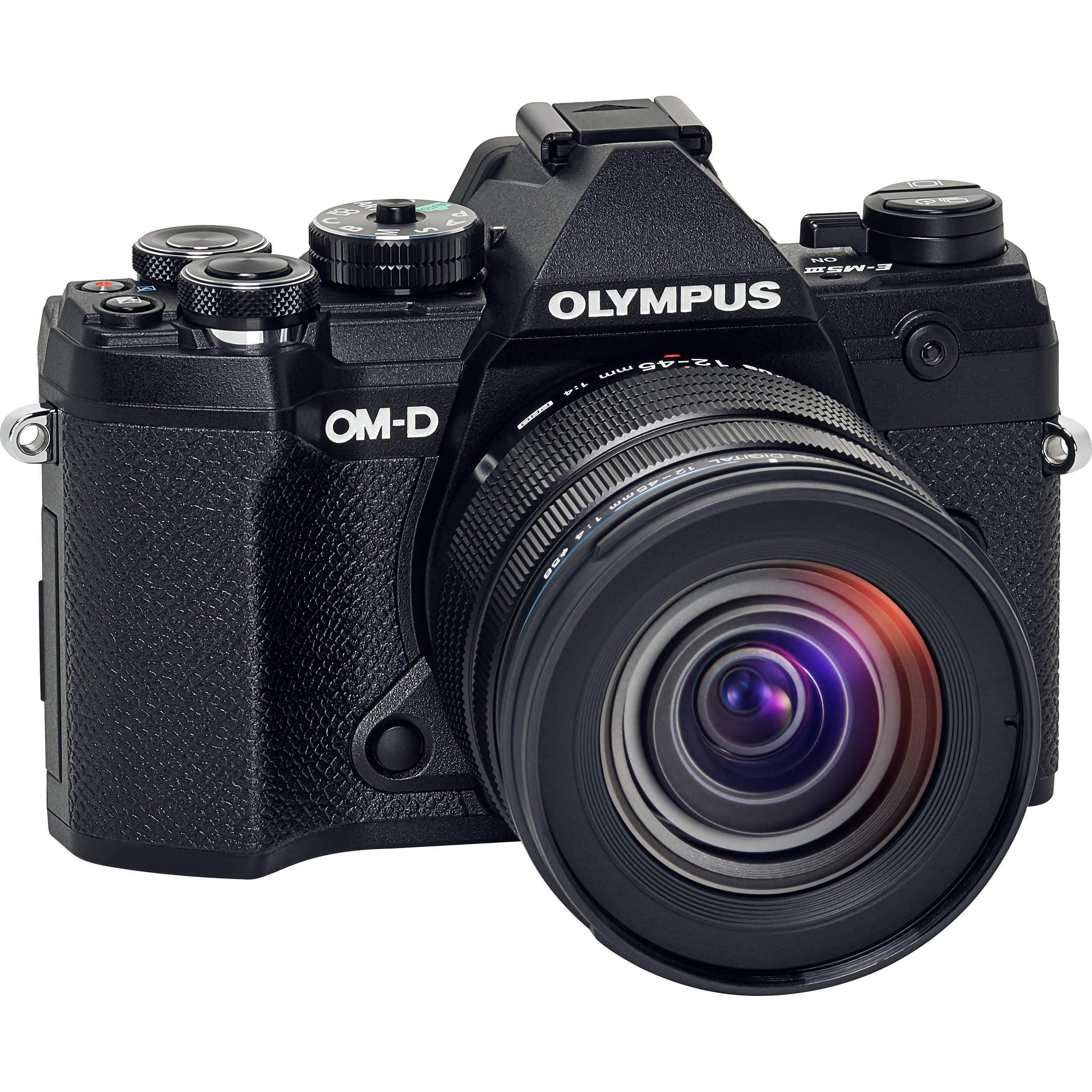 OLYMPUS E-M5 Mark III černý + 12-45 černý