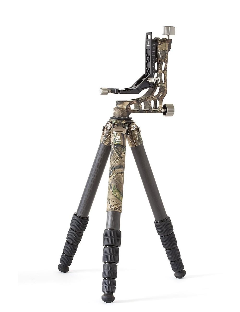 LEOFOTO Ranger LS-365C + Gimbal PG-1 camouflage
