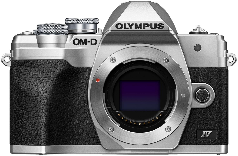 OLYMPUS E-M10 Mark IV tělo stříbrné