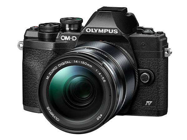 OLYMPUS E-M10 Mark IV černý + 14-150 černý