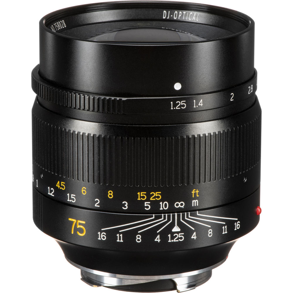 7ARTISANS 75 mm f/1,25 pro Leicu M