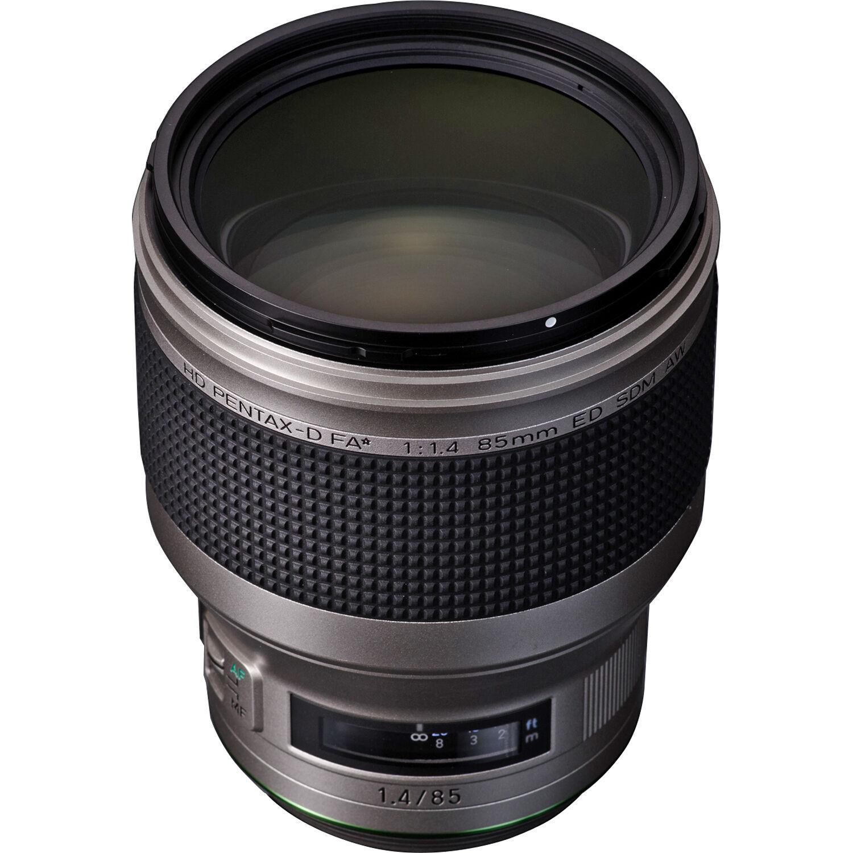 PENTAX 85 mm f/1,4 HD D-FA* ED SDM AW Silver Edition