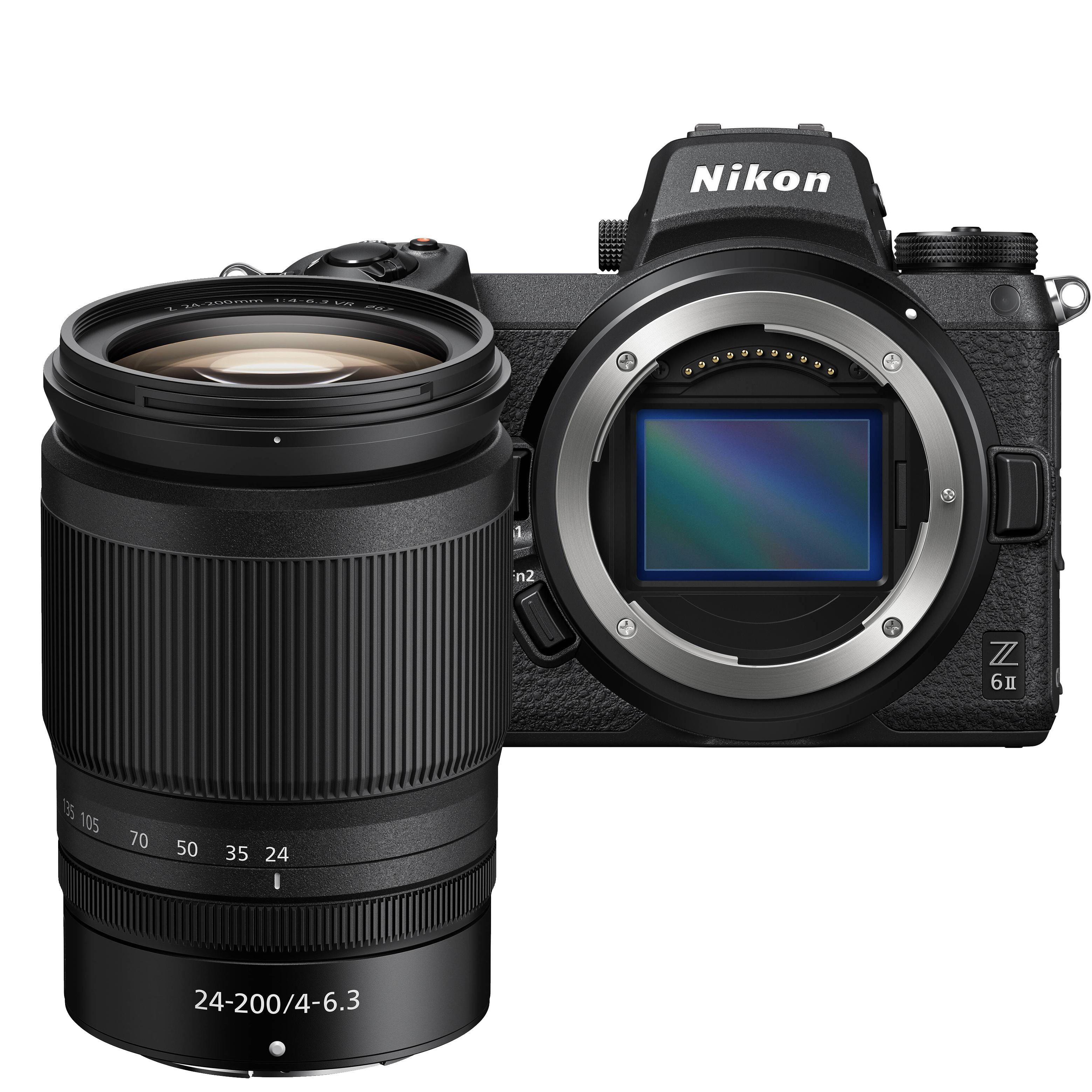 NIKON Z6 II + 24-200 mm