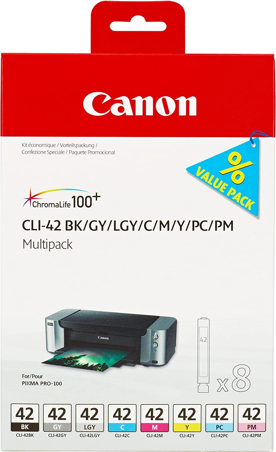 CANON CLI-42 Multi Pack 8 inks