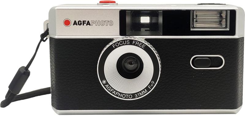 AGFAPHOTO fotoaparát s bleskem 31 mm f/9 černý