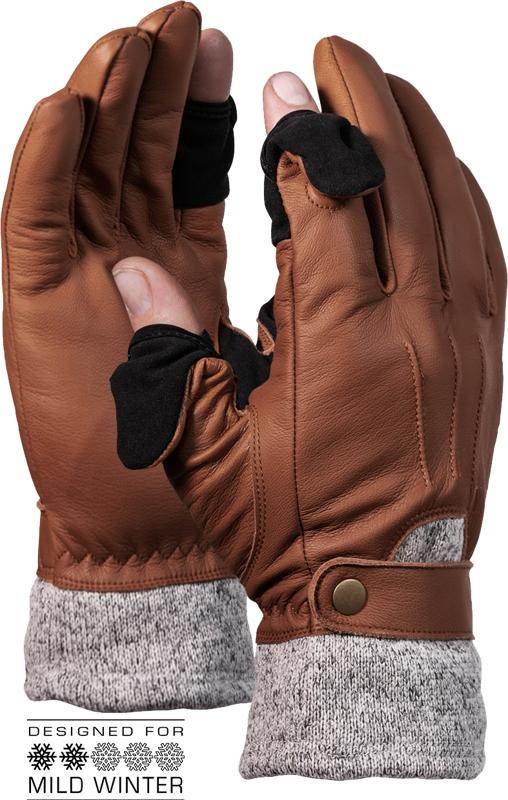 VALLERRET Urbex M Brown fotografické rukavice