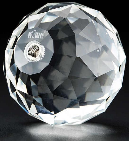 KIWI křišťálová fazetovaná koule pro kreativní fotografování 60 mm