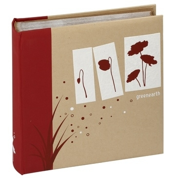 PANODIA GREENEARTH klasické/100 stran, 29x29, červená