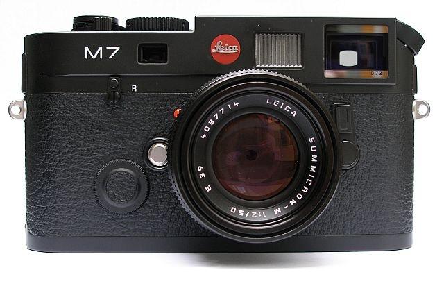 LEICA M7 0,72 černý chrom Beginners set