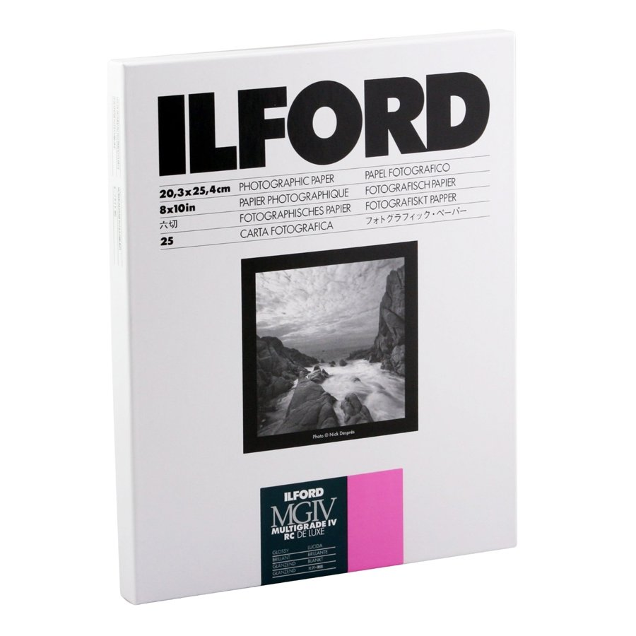 ILFORD MG IV RC 18x24/25 1M lesk