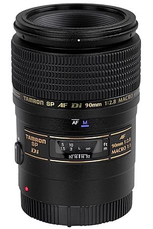 TAMRON 90 mm f/2,8 SP Di Macro pro Canon