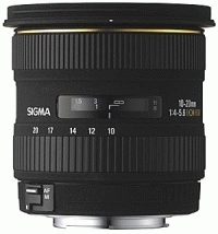 SIGMA 10-20 mm f/4-5.6 EX DC HSM pro Canon