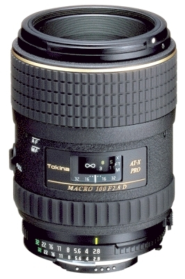 TOKINA 100 mm f/2,8 AT-X PRO D Macro pro Canon