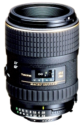 TOKINA 100 mm f/2.8 AT-X PRO D Macro pro Nikon