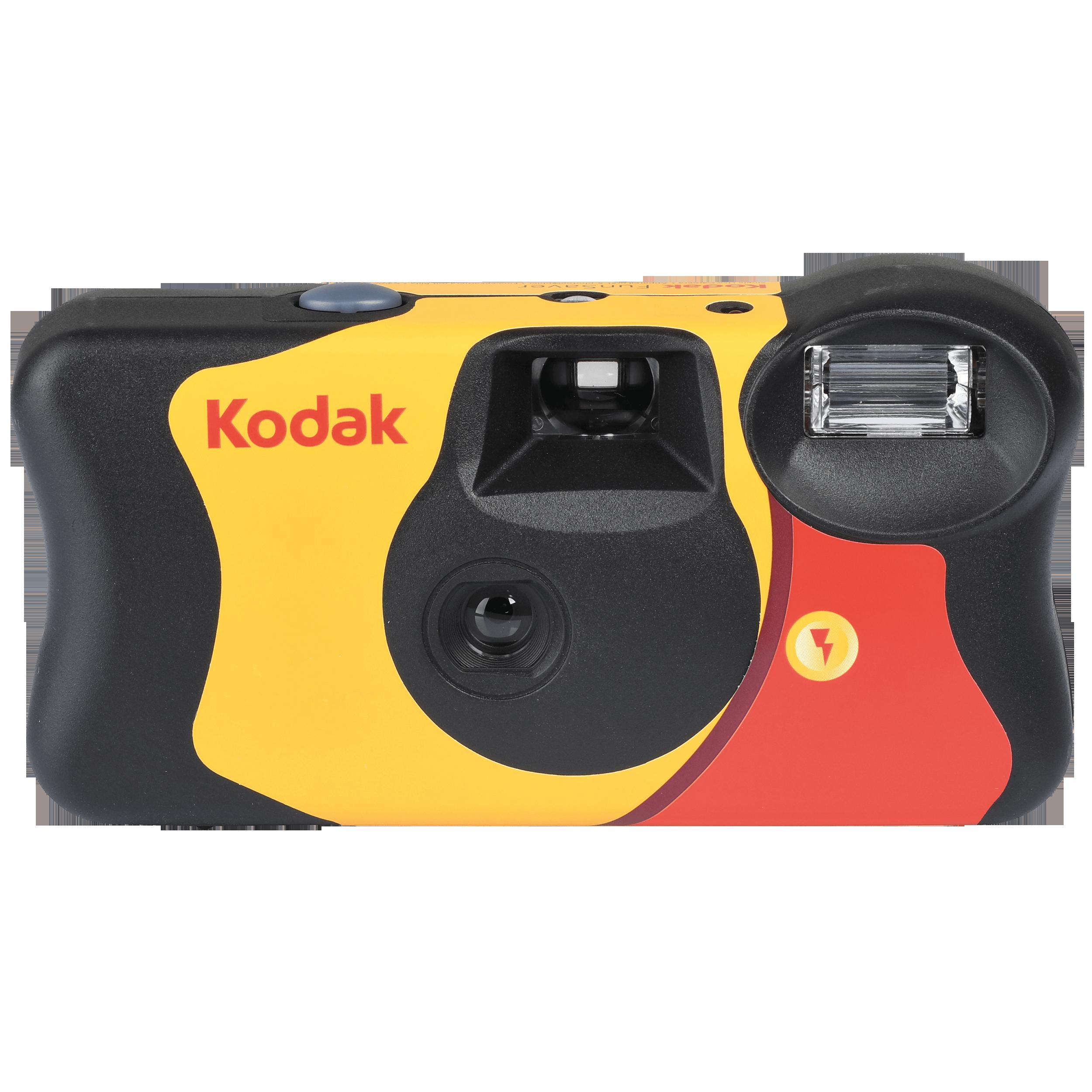 KODAK FunSaver jednorázový fotoaparát s bleskem 400/27+12