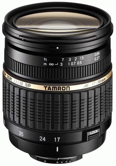 TAMRON 17-50 mm f/2,8 SP XR Di II LD Asph. pro Canon