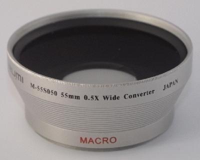 MARUMI Širokoúhlá předsádka 0,5x na závit 28 mm