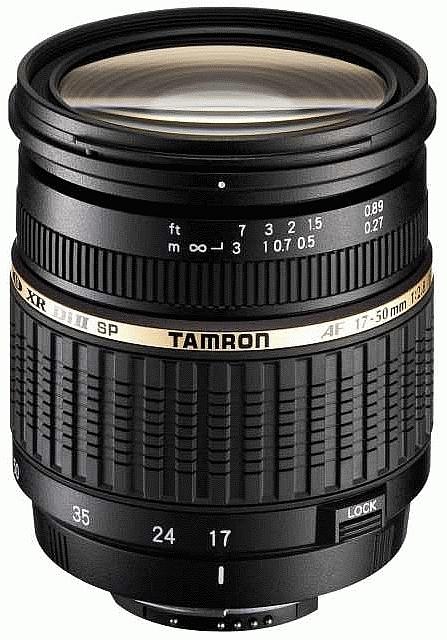 TAMRON 17-50 mm f/2,8 SP XR Di II LD Asph. pro Nikon