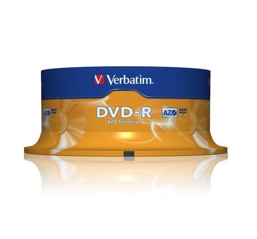 VERBATIM DVD-R 4,7GB spindle 25pack
