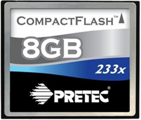PRETEC CF 8GB  233x