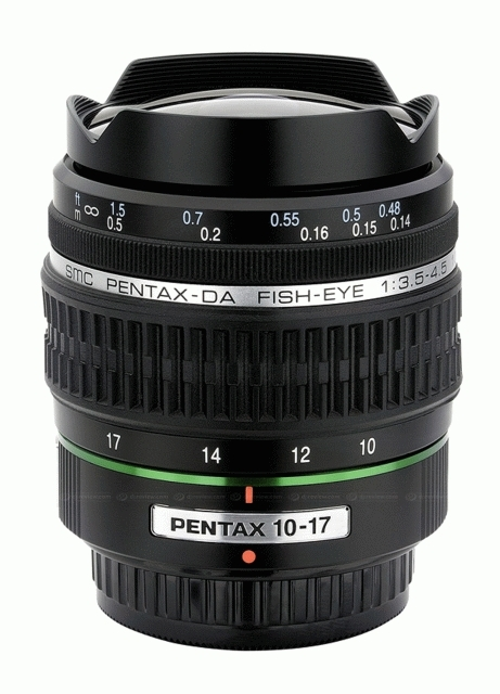 PENTAX 10-17 mm f/3,5-4,5 DA ED Fisheye