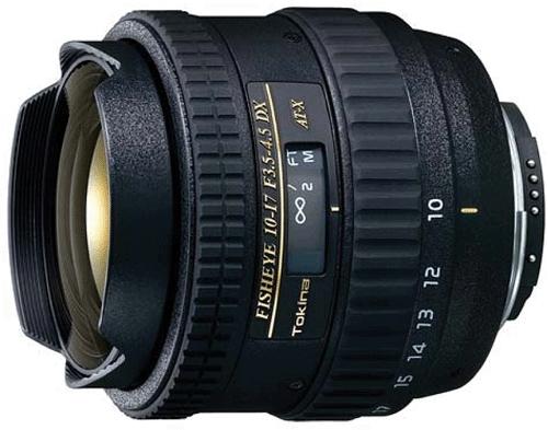 TOKINA 10-17 mm f/3,5-4,5 AT-X DX pro Nikon