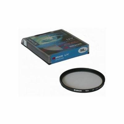 BRAUN filtr UV 62 mm