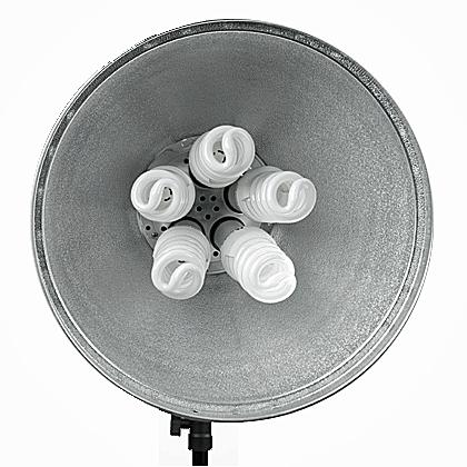 INTERFIT 116 Lampa 5x patice E27 - AKCE