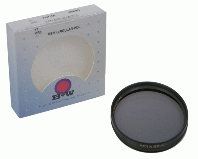 B+W filtr Polarizační cirkulární F-Pro MRC 77 mm KSM