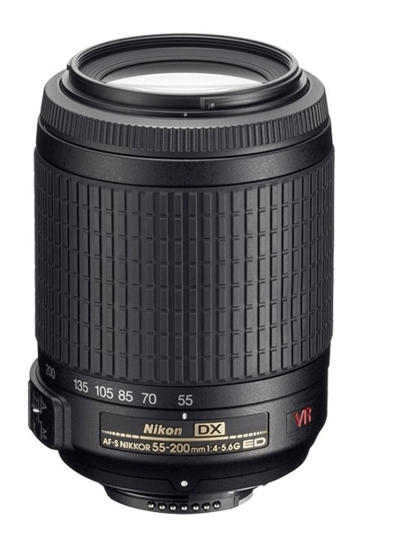 NIKON 55-200/4-5,6 G AF-S DX VR