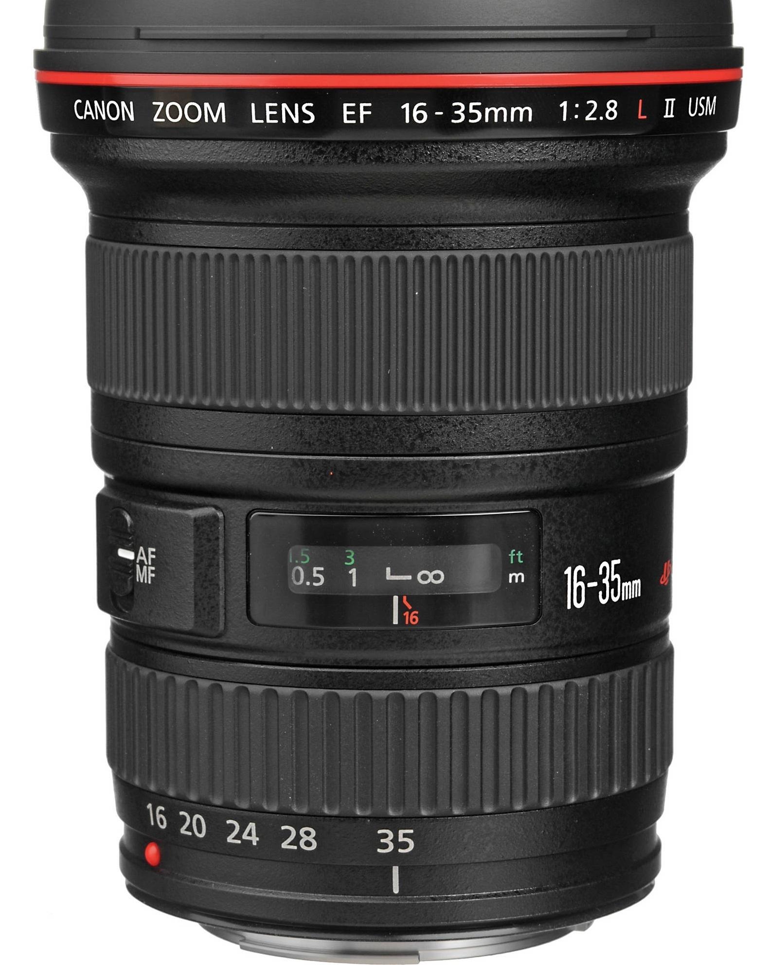 CANON EF 16-35 mm f/2,8 L II USM
