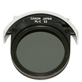 CANON Drop-in filter PL-C 52mm pro EF 300 f/2.8L IS, 400 f/2.8L IS, 500 f/4L IS