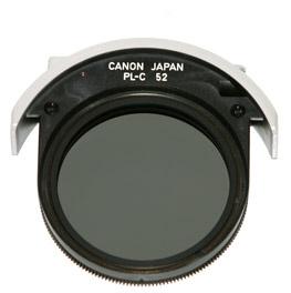 CANON Drop-in filter PL-C 52mm pro EF 300 f/2.8L IS, 400 f/2.8L IS, 500 f/4L IS