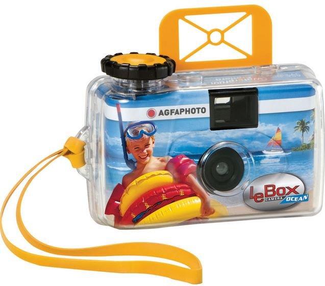 AGFA LeBox Ocean jednorázový fotoaparát pod vodu ISO 400/27 snímků