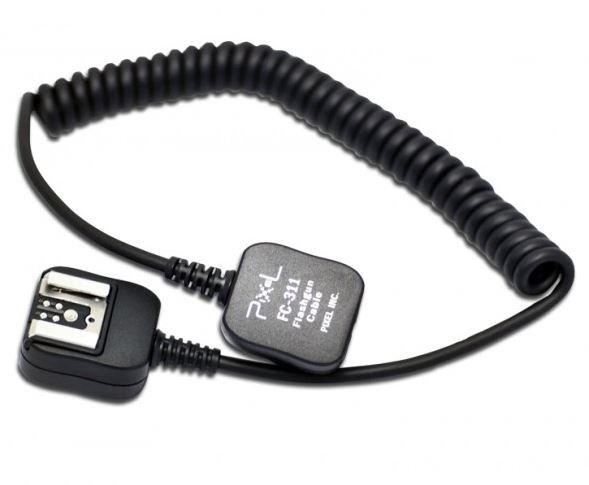 PIXEL propojovací kabel k blesku FC-311 pro Canon 1,8 m