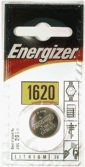 ENERGIZER CR 1620 / 1ks