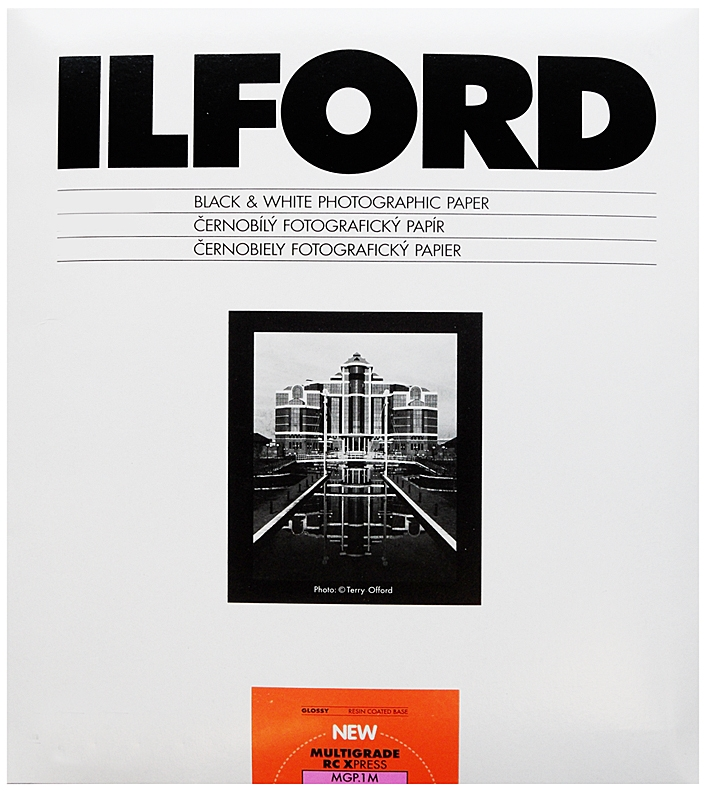 ILFORD MG RC X-PRESS 10x15/100 1M lesk