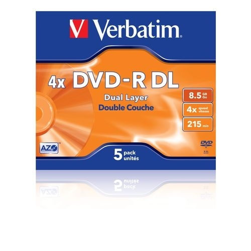 VERBATIM DVD-R 8,5GB DL jewellcase