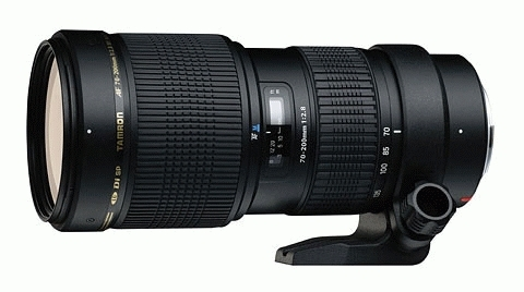 TAMRON 70-200 mm f/2,8 SP Di LD Macro pro Canon