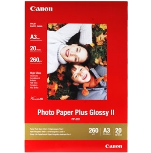 CANON inkjet 265g Glossy A3+/20 PP-201