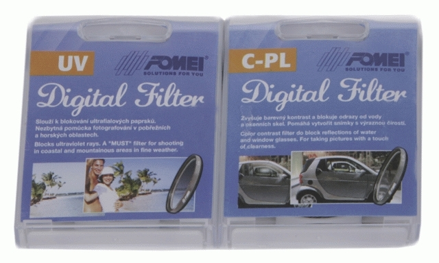 FOMEI set filtrů UV + PL-C 58mm