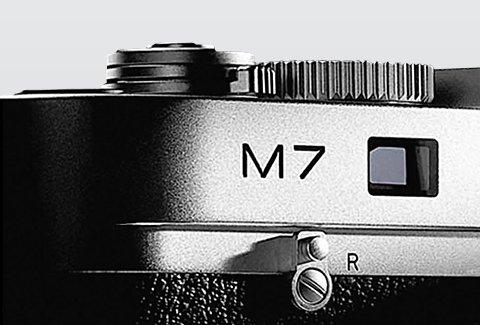 LEICA M7 0,72 stříbrný chrom